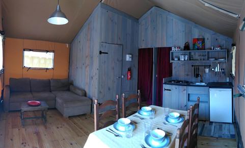 Safari Lodge - la Mora - interieur