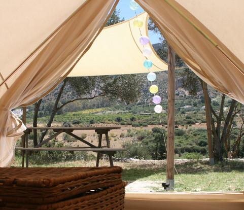 Interieur - Bell tent