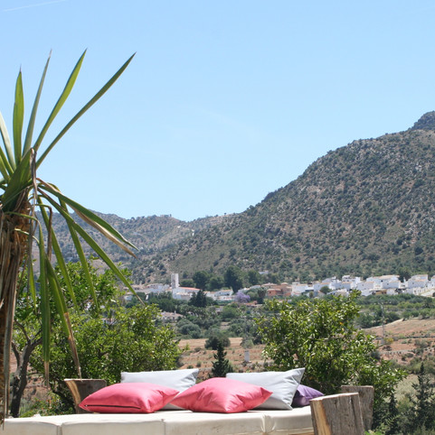Relaxen met mooi uitzicht