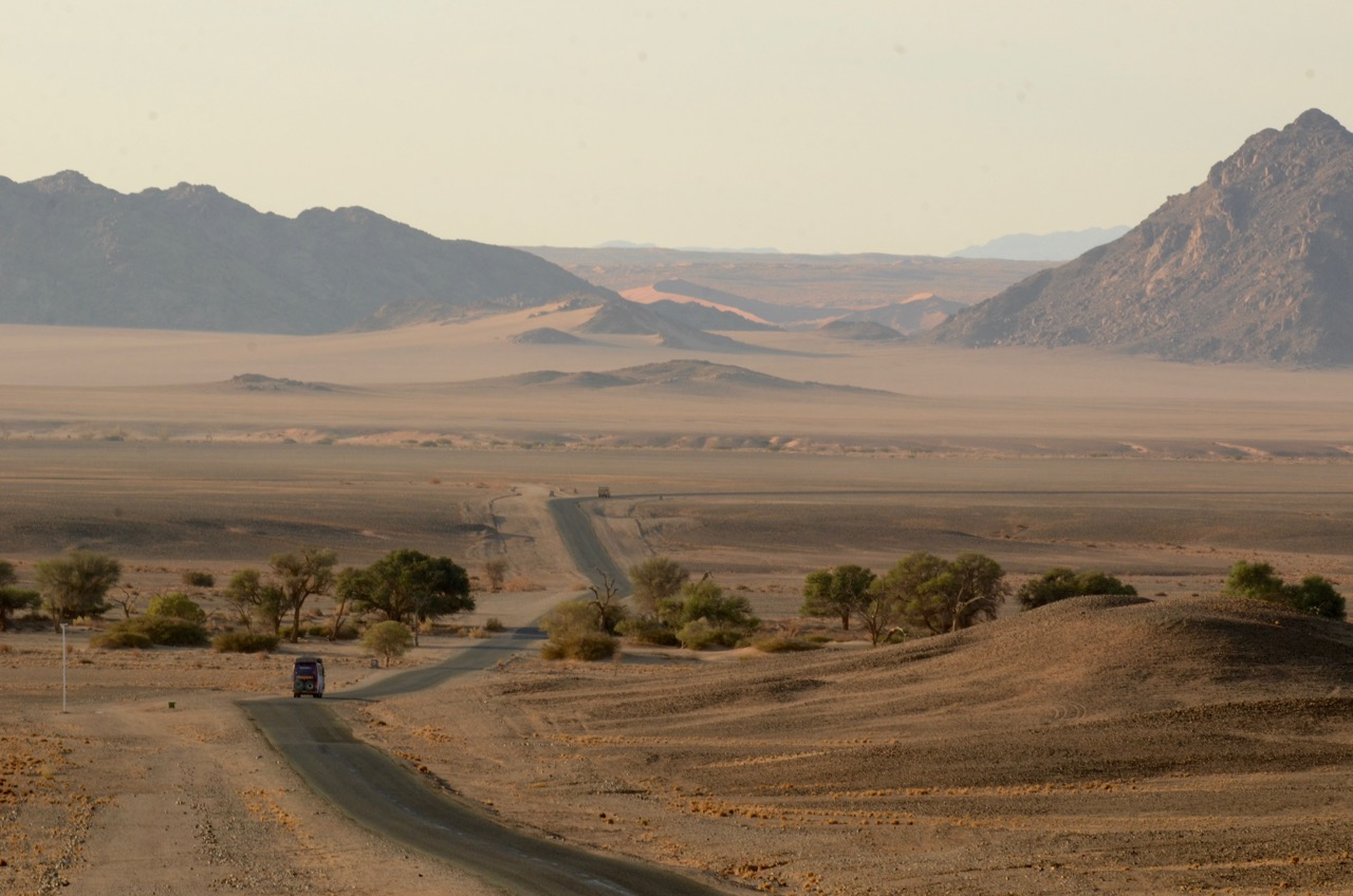 Road to Sossusvlei