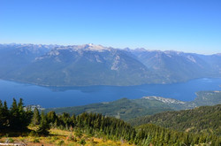 Slocan Lake with Valhalla Mountains