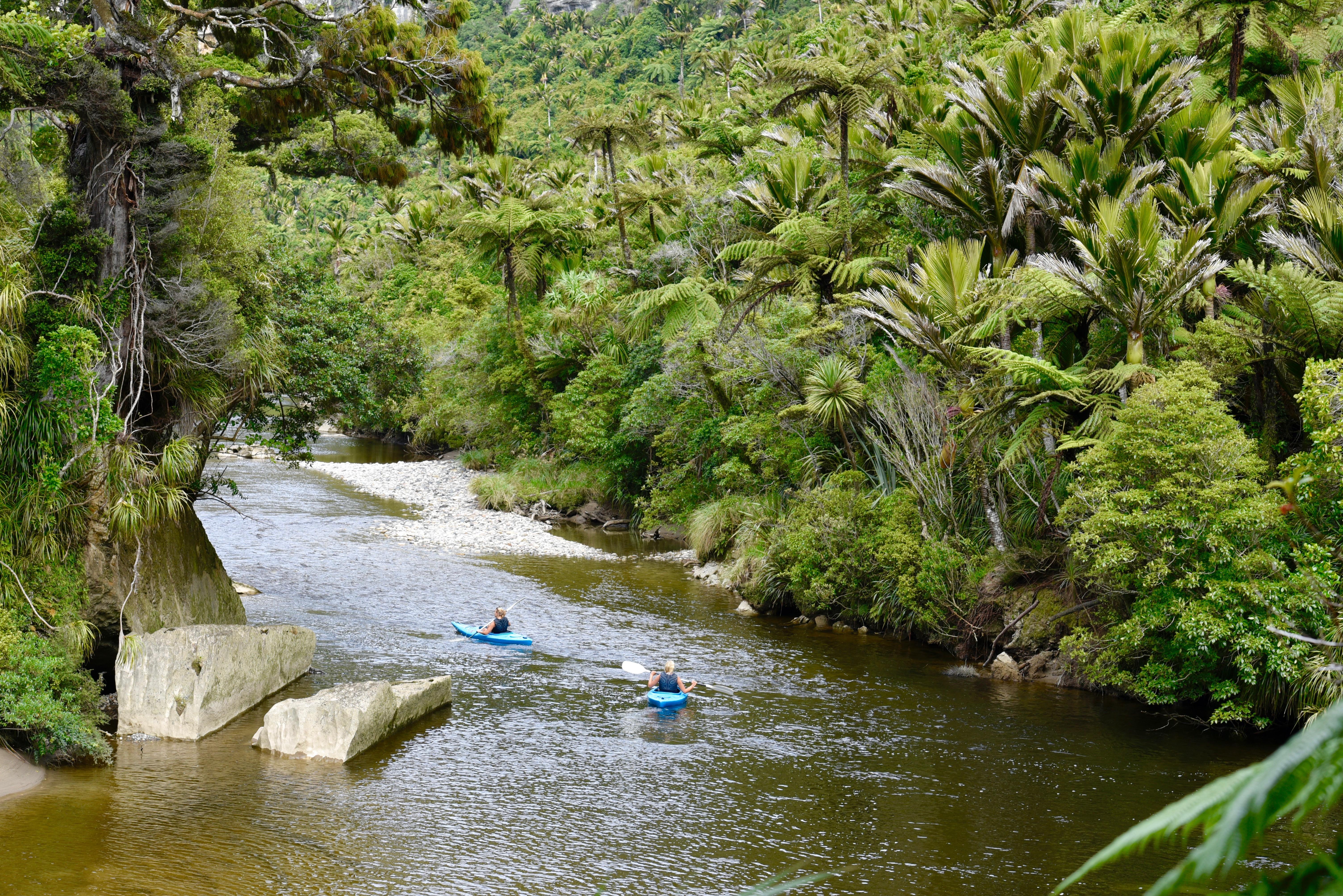 Paddling Porari River