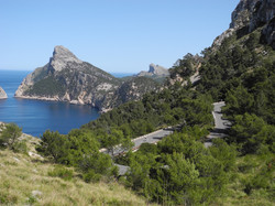 Road to Cap de Formentor