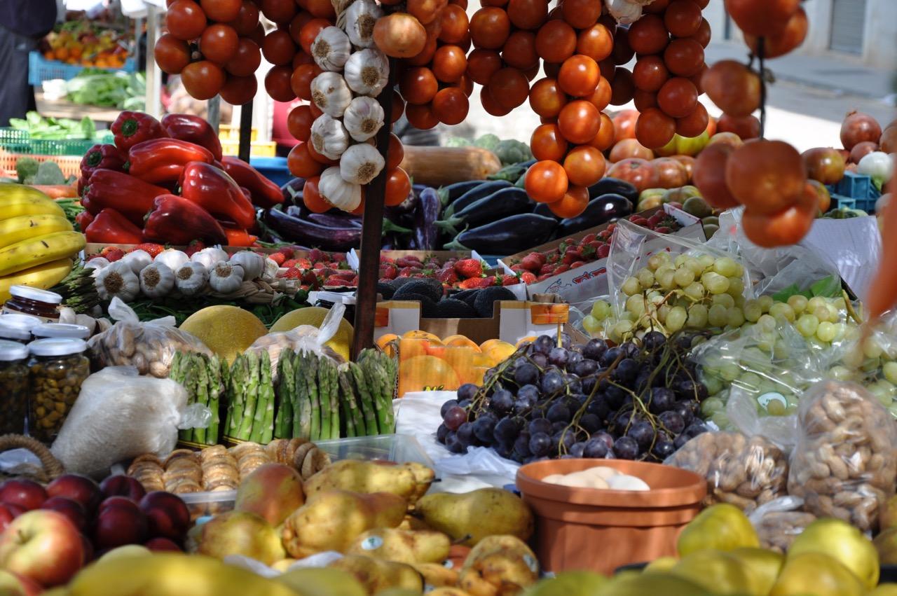Market in Santa Maria
