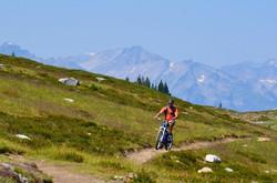 Riding Frisbee Ridge