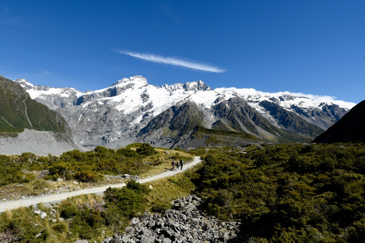 Up the Hooker Valley