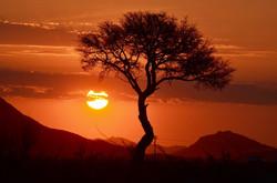 Sunset at Sossusvlei