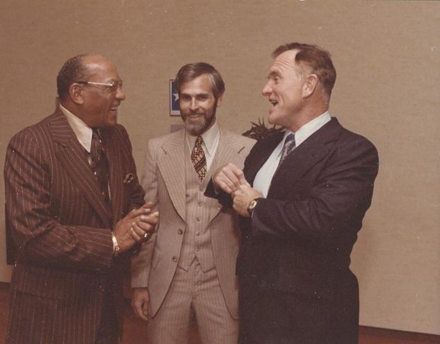Olympic Champion, Jesse Owens, Mike, & Olympic Champion, Bob Richards