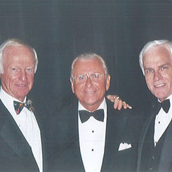 Mike, Harvey Mackay & Nido Qubein