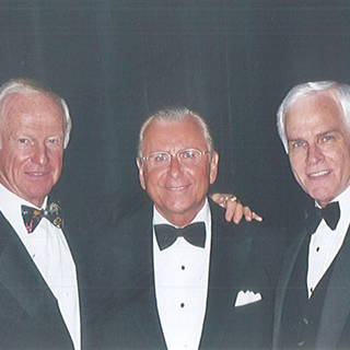 Mike Frank with Harvey Mackay & Nido Qubein