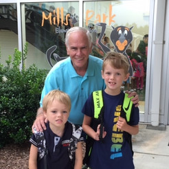 Mike & Grandsons