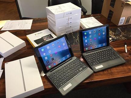 Setting up iPads