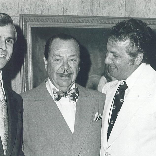 Mike, W Clement Stone and Joe Girard