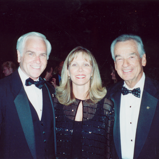 Mike, Colleen Ridge, and Zig Ziglar