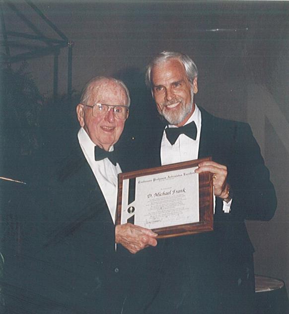 Mike Frank & Dr. Norman Vincent Peale