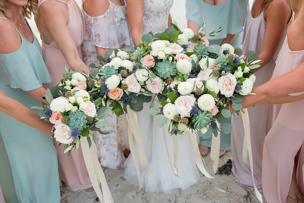 Cape Cod Beach Wedding Flowers, Fleur + Stitch
