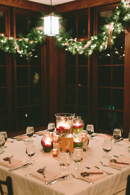 The Willowdale Estate, atrium garland, Christmas