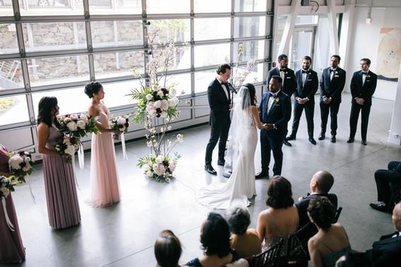Artists for Humanity Wedding, Fleur + Stitch, Fleur and Stitch, Fleur & Stitch, Zev Fisher Photography
