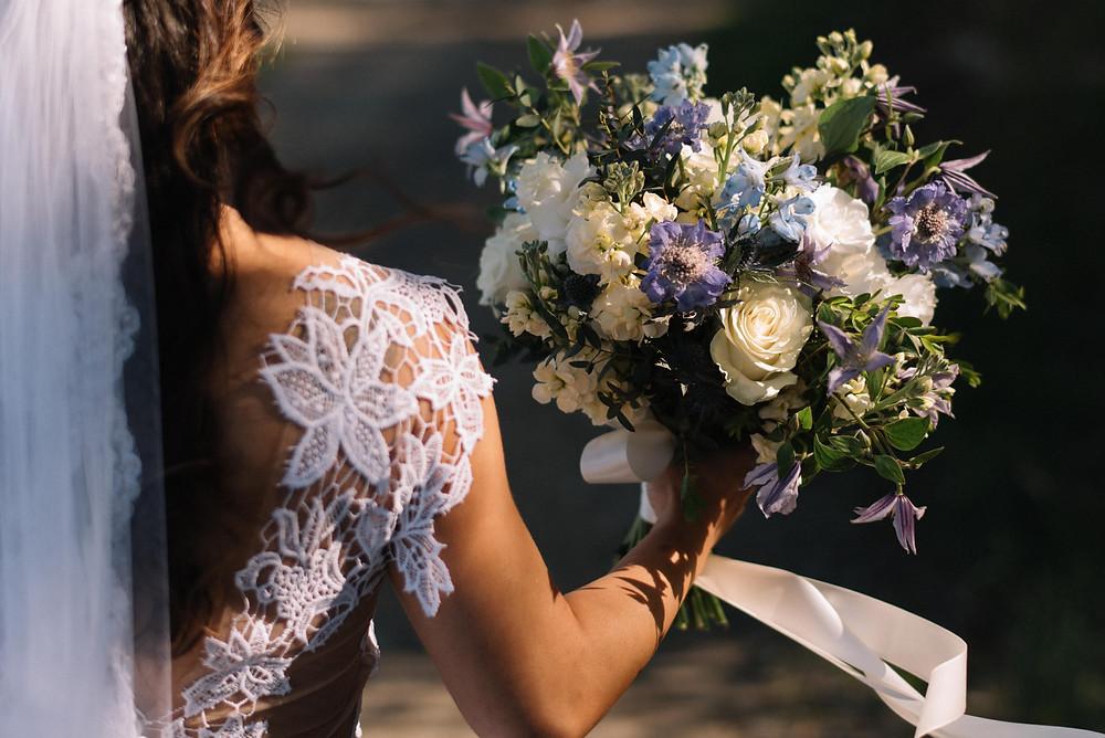 Wildflower wedding bouquet, Fleur + Stitch, Wedding Florist Lynn MA