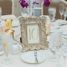 Fleur + Stitch, Fleur and Stitch, Fleur & Stitch, Table Numbers, Wedding Table Numbers