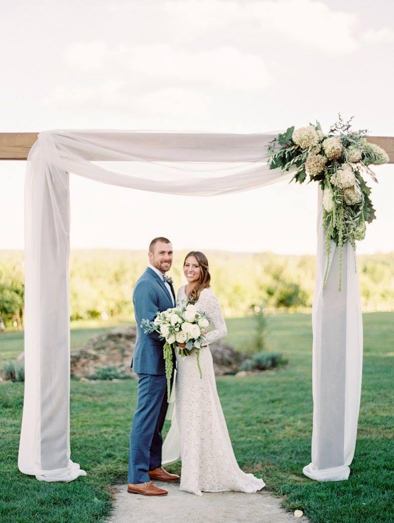 Hyland Orchard Wedding Arbor