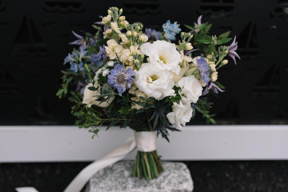 Fleur + Stitch Lynn MA, Wild flower bouquet, Wedding Florist,