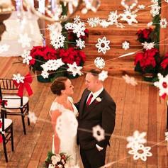 Fleur + Stitch, Fleur and Stitch, Fleur & Stitch, Paper Snowflakes, Snowflake Wedding