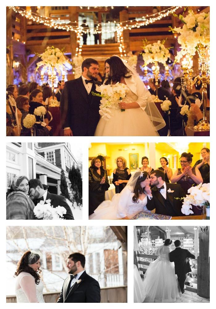 Red Lion Inn Cohasset MA winter wedding