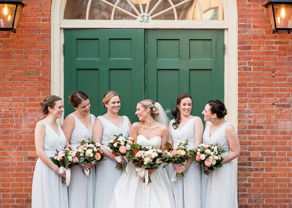 Salem MA Wedding, Free Bird Photography, Fleur + Stitch, Fleur and Stitch Wedding Flowers