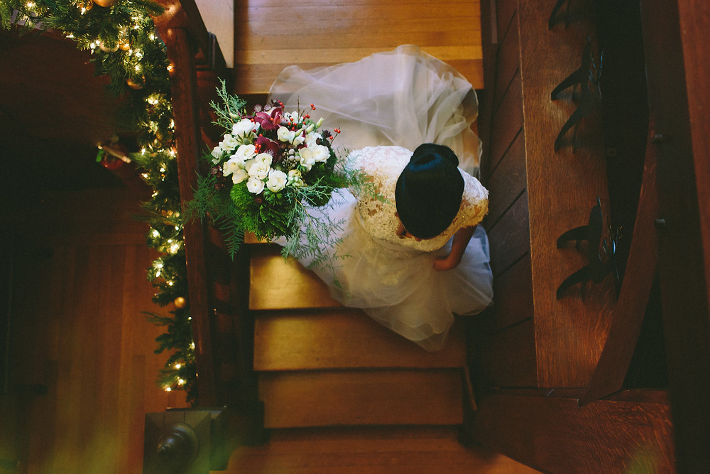 Christmast wedding, The Willowdale Estate