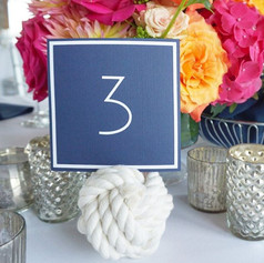 Fleur + Stitch, Fleur and Stitch, Fleur & Stitch, Table Numbers, Nautical Table Numbers
