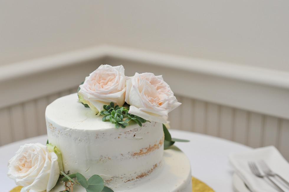 Fleur + Stitch, Blush wedding flowers, George Street Photos