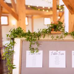 Fleur + Stitch, Fleur and Stitch, Fleur & Stitch, Seating Chart, Paper decor