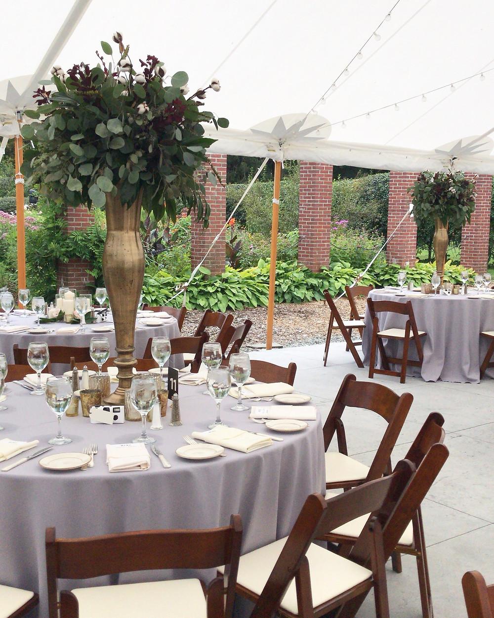Glen Magna Tent, Glen Magna Wedding Flowers, Glen Magna chairs, Glen Magna Florist, Fleur + Stitch, Fleur & Stitch, Fleur and Stitch