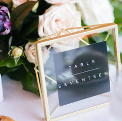 Table Numbers by Fleur + Stitch