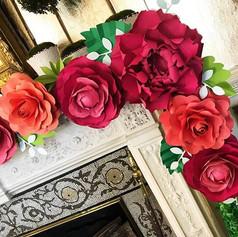 Fleur + Stitch, Fleur and Stitch, Fleur & Stitch, Paper Flowers