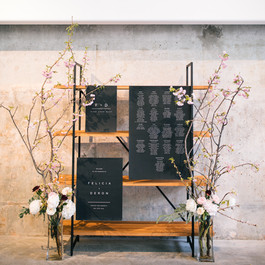 Black Seating Chart, Fleur + Stitch, Artists for Humanitie, Fleur and Stitch, Fleur & Stitch, Zev Fisher Photography