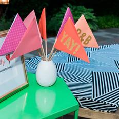 Fleur + Stitch, Fleur and Stitch, Fleur & Stitch, Paper decor