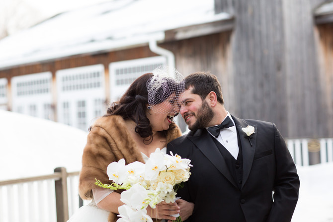 A Black Tie Winter Wedding at The Red Lion Inn, Cohasett MA