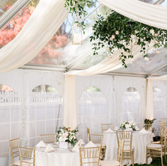 Tented Reception Design by Fleur and Stitch