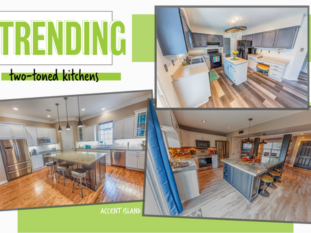 TRENDING: TWO-TONED KITCHENS