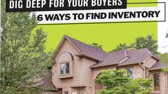 6 WAYS TO FIND INVENTORY