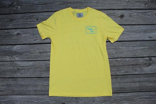 Box Logo Tee Yellow