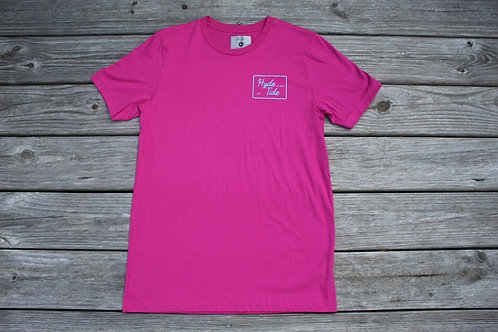 Box Logo Tee Pink