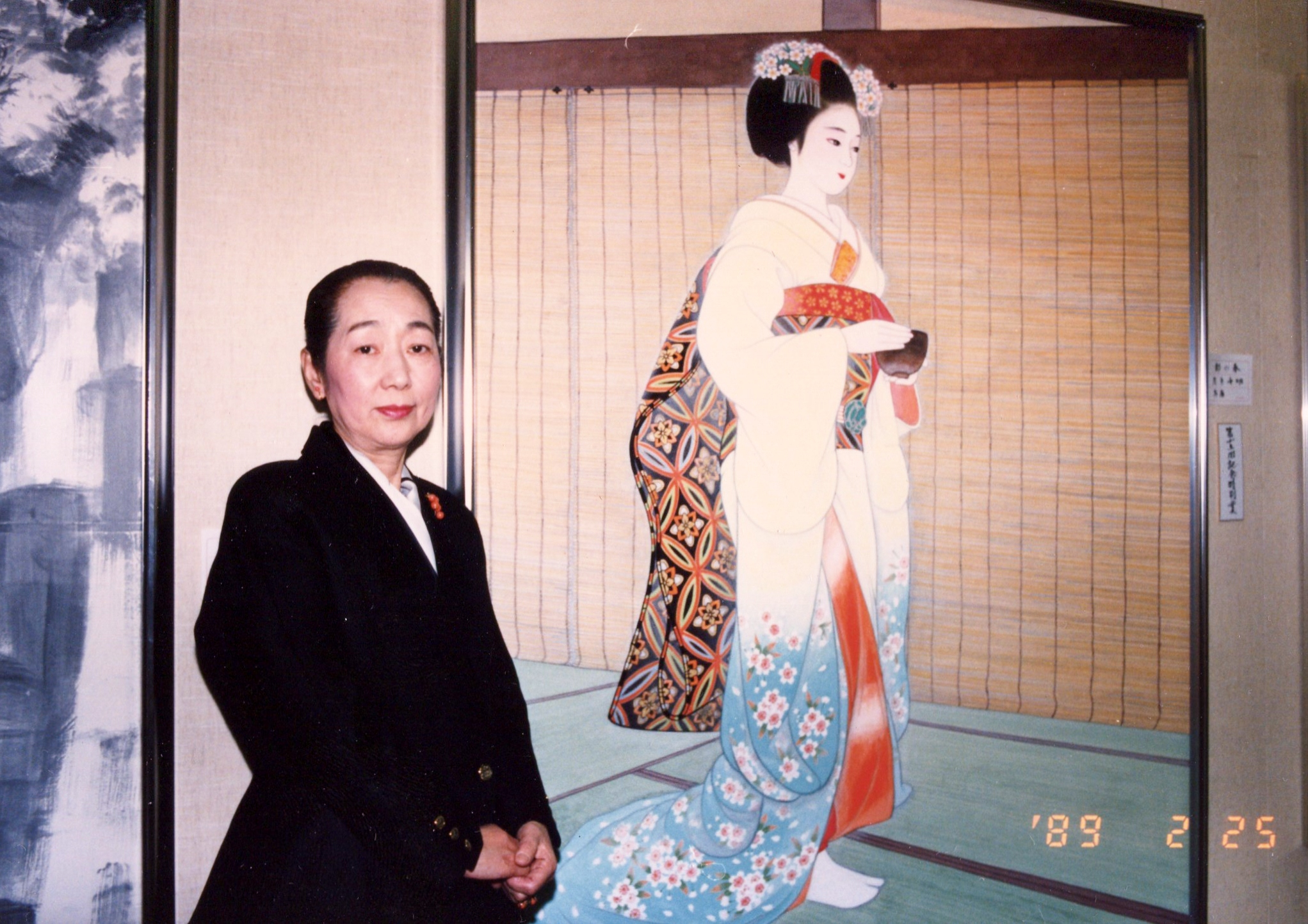 名誉顧問:左京千明(日本画家)