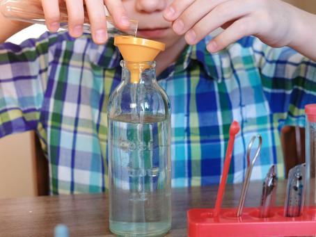 小感官瓶大用处!和孩子一起动手做一个吧!