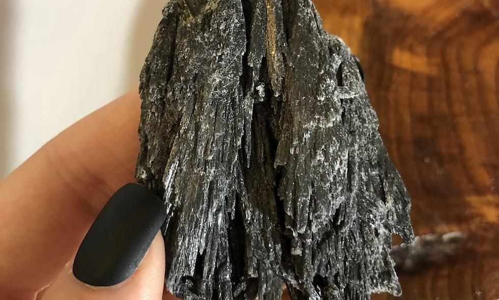 """Black Kyanite """"C"""""""