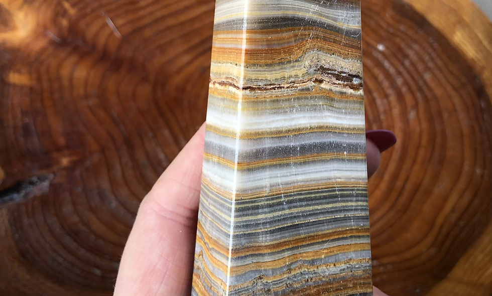 "Banded Agate Tower ""B"""