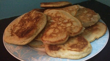 Soya milk Drop scones