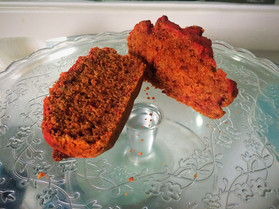 Beetroot and honey cake